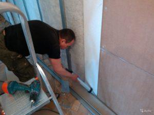 Звукоизоляция стен в квартире г. Екатеринбург Ул Крауля 44