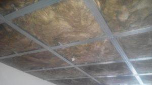 Звукоизоляция потолка панелями фонстар