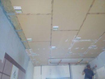 Звукоизоляции потолка