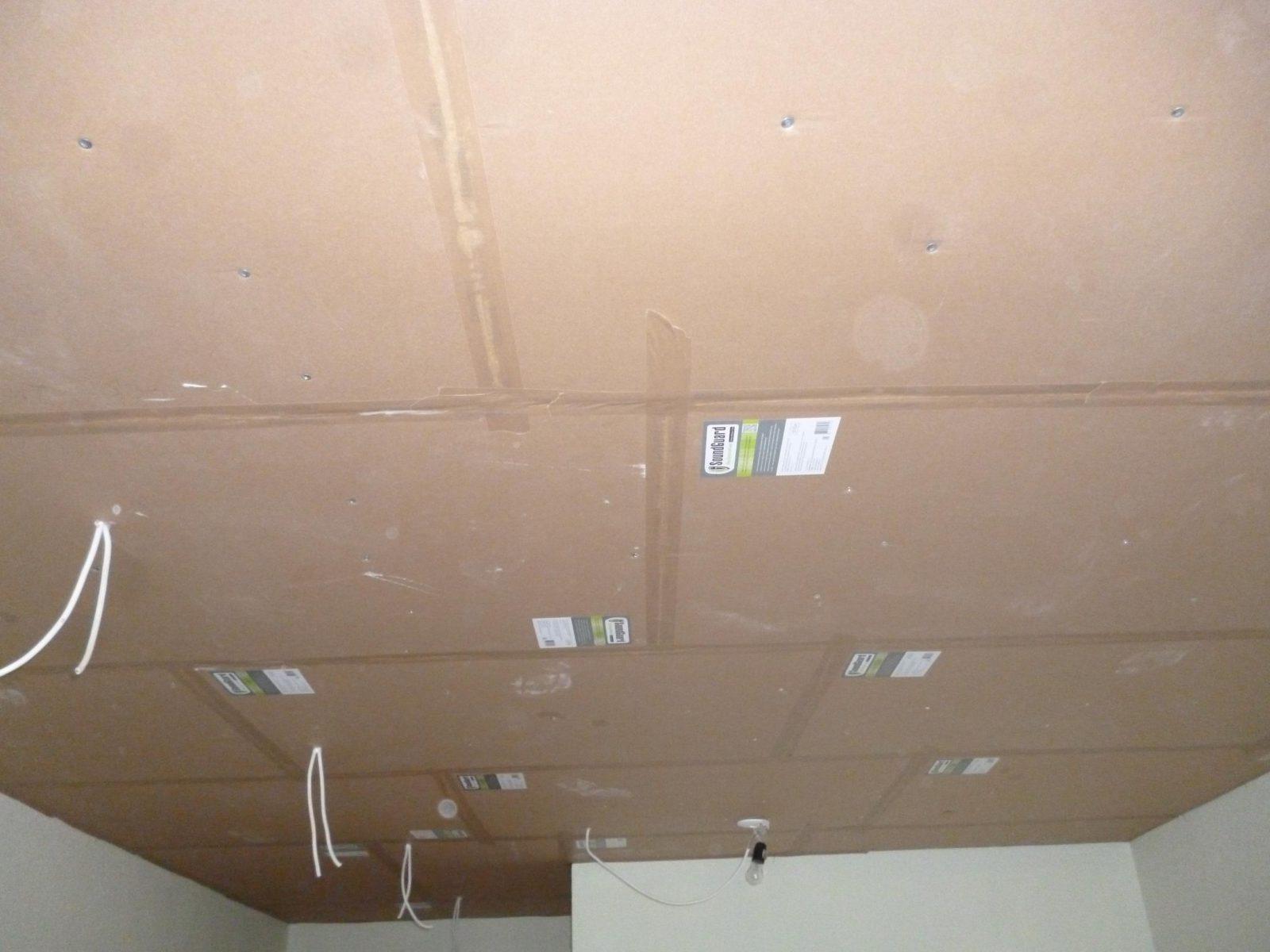 Звукоизоляция потолка