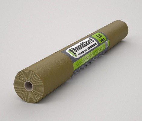 Звукоизоляционная мембрана SoundGuard Membrane 3.8 2500x1200 (3м2)